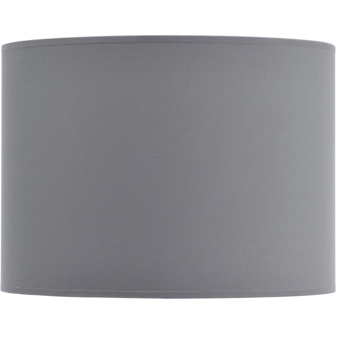 "Drum shade 16"" with silver lining"